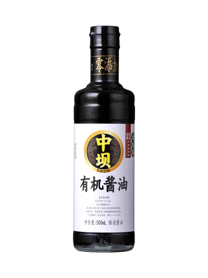 有机酱油500ml